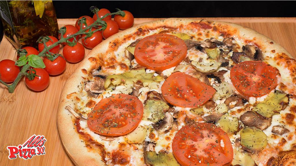 La pizza potagère