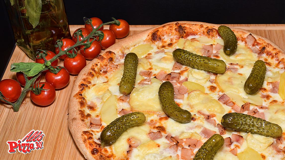 La pizza Raclette