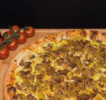 La pizza Tajmahl