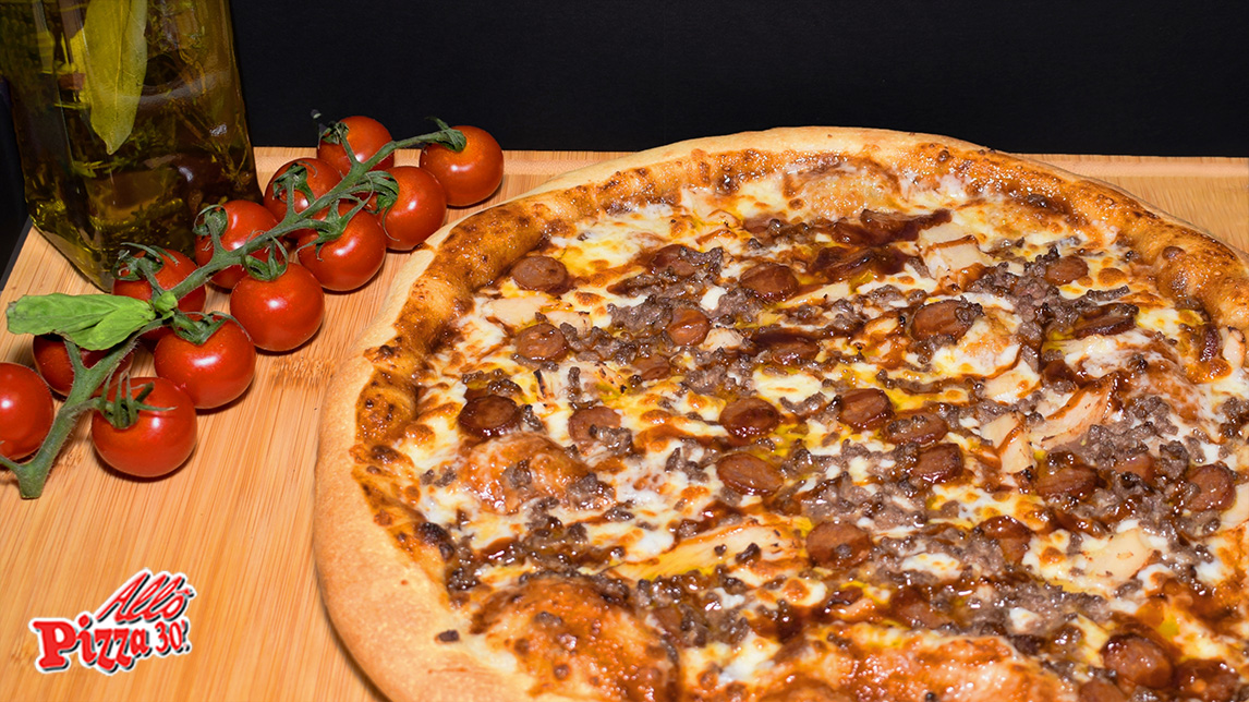 La pizza carnivore