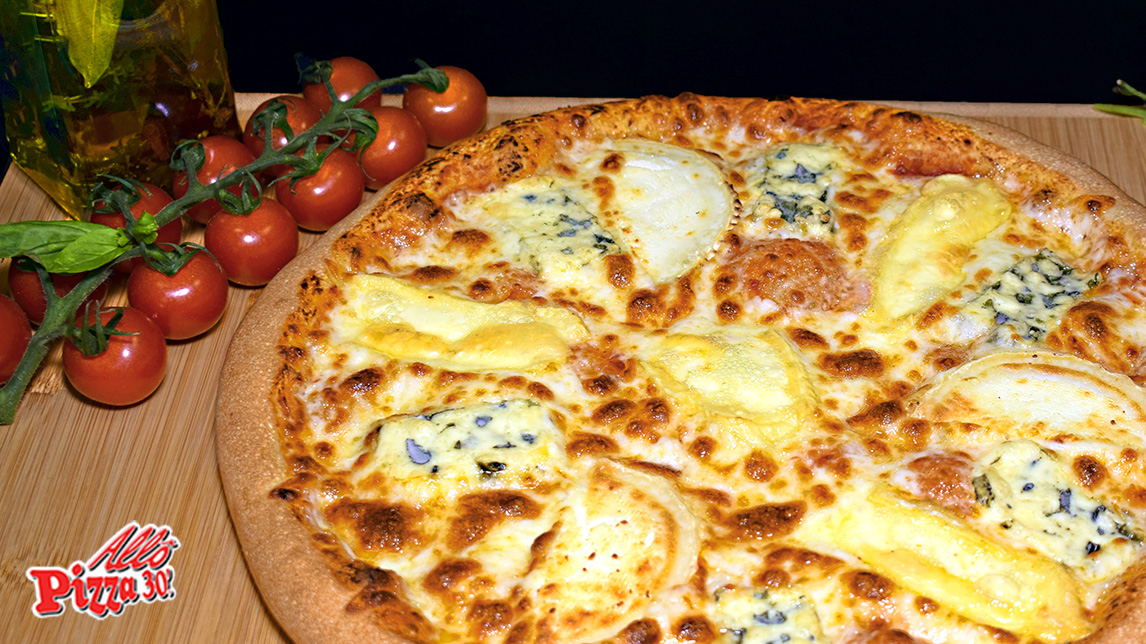 La pizza 4 Fromages