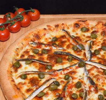La pizza anchois