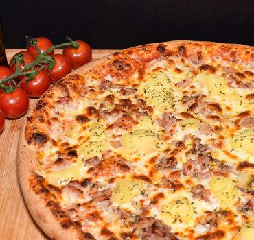 La pizza hawaïenne