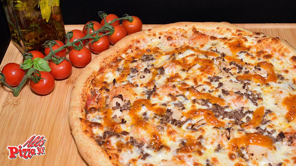 La pizza méditérannéenne